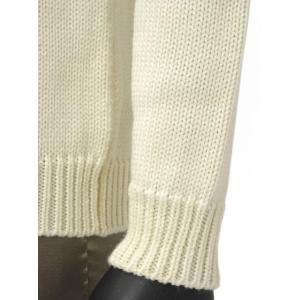 roberto collina【ロベルトコリーナ】タートルネックニット  RN20003 02 wool ECRU(ウール エクリュホワイト)|cinqueunaltro|05