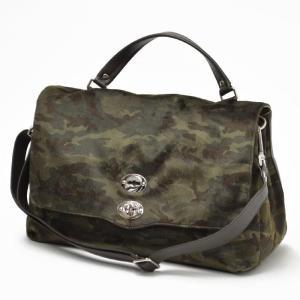 【送料無料】ZANELLATO【ザネラート】ワンハンドルバッグ POSTINA L 36014-95 velvet leather camoufrage MILITARY(ベルベット レザー カモフラージュ) cinqueunaltro