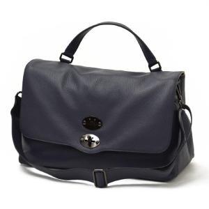 【送料無料】ZANELLATO【ザネラート】ワンハンドルバッグ POSTINA L 36041-50 leather BLU REALE(レザー ネイビー) cinqueunaltro