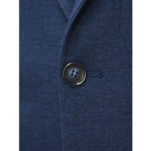 Giannetto【ジャンネット】シャツジャケット 6G189JK 001 ジャージ コットン インディゴ|cinqueunaltro|06