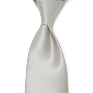 DOLCEPUNTA【ドルチェプンタ】  シルクタイ M1 3 silk solid SILVER (シルク ソリッド シルバー)|cinqueunaltro