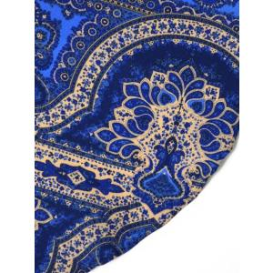 DOLCEPUNTA【ドルチェプンタ】ポケットチーフ FAZZOLETTO P1704 6 シルク ペイスリー ブルー ベージュ cinqueunaltro 03