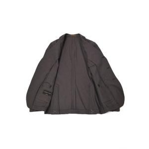 Gabriele Pasini【ガブリエレ パジーニ】シングルジャケット JG80030Q GP8422 291 コットン バーズアイ ブラウン cinqueunaltro 04