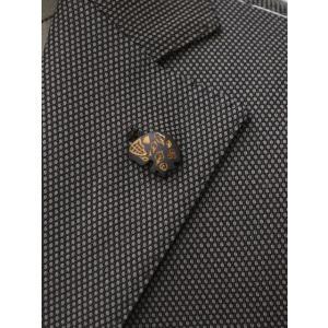 Gabriele Pasini【ガブリエレ パジーニ】シングルジャケット JG80030Q GP8422 291 コットン バーズアイ ブラウン cinqueunaltro 06