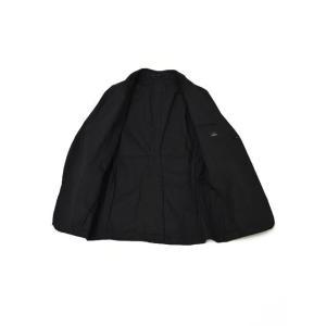 SOLIDO【ソリード】 シングルジャケット TALLIO コットン ナイロン ストレッチ  ブラック|cinqueunaltro|03