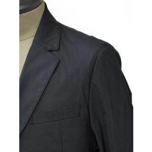 SOLIDO【ソリード】 シングルジャケット TALLIO コットン ナイロン ストレッチ  ブラック|cinqueunaltro|04