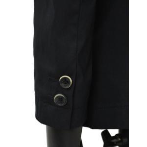 SOLIDO【ソリード】 シングルジャケット TALLIO コットン ナイロン ストレッチ  ブラック|cinqueunaltro|06