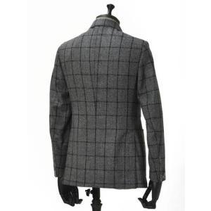 THE GIGI【ザ ジジ】シングルジャケット DEGAS E051 810  ウール ウィンドペーン グレー|cinqueunaltro|02