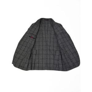 THE GIGI【ザ ジジ】シングルジャケット DEGAS E051 810  ウール ウィンドペーン グレー|cinqueunaltro|03