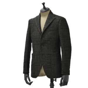 THE GIGI【ザ ジジ】シングルジャケット DEGAS E067 500 ウール ジャガード オリーブ|cinqueunaltro