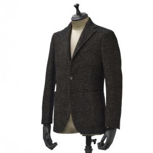 THE GIGI【ザ ジジ】シングルジャケット DEGAS E080 950 ウール コットン シェブロン べージュ ブラック|cinqueunaltro