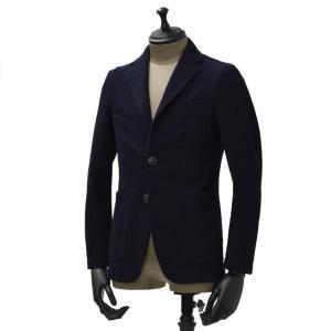 THE GIGI【ザ ジジ】シングルジャケット ANGIE F104 700 コットン ジャージ  ネイビー|cinqueunaltro