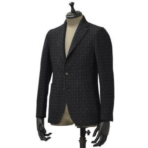 THE GIGI【ザ ジジ】シングルジャケット ANGIE G009 550 コットン ウール ナイロン ジャガード カーキ ネイビー|cinqueunaltro
