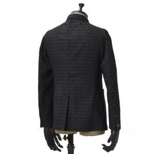 THE GIGI【ザ ジジ】シングルジャケット ANGIE G009 550 コットン ウール ナイロン ジャガード カーキ ネイビー|cinqueunaltro|02