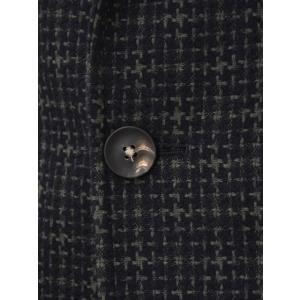 THE GIGI【ザ ジジ】シングルジャケット ANGIE G009 550 コットン ウール ナイロン ジャガード カーキ ネイビー|cinqueunaltro|05