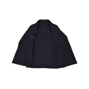 THE GIGI【ザ ジジ】ダブルジャケット MIRO' DP-GO 700 ウール ネイビー|cinqueunaltro|03