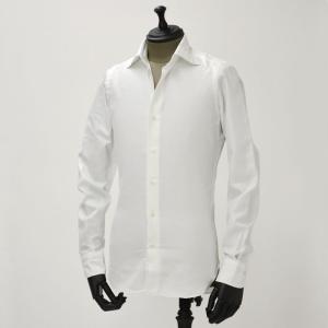 Mario Musucariello【マリオムスカリエッロ】 ドレスシャツ ZEUS OP 10.1 cotton twill WHITE( コットンツイル ホワイト)|cinqueunaltro