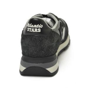 【送料無料】Atlantic STARS【アトランティック スターズ】スニーカー ランニングシューズ ANTARES GNVA-81N suede nylon SILVER BLACK cinqueunaltro 05