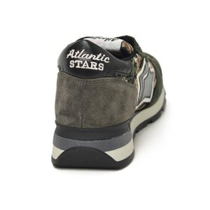 【送料無料】Atlantic STARS【アトランティック スターズ】スニーカー SIRIUS APC-81N suede nylon camouflage KHAKI(スエード ナイロン カモフラージュ カーキ) cinqueunaltro 05