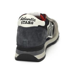 Atlantic STARS【アトランティック スターズ】スニーカー SIRIUS GM-81N スエード ナイロン カモフラージュ グレー ブラック|cinqueunaltro|05