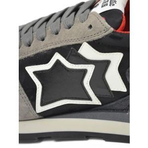 Atlantic STARS【アトランティック スターズ】スニーカー SIRIUS GM-81N スエード ナイロン カモフラージュ グレー ブラック|cinqueunaltro|06