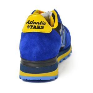 Atlantic STARS【アトランティック スターズ】スニーカー  ANTARES EN-PR-BGBN スエード ナイロン ビブラムソール  ブルー ブラック イエロー cinqueunaltro 05