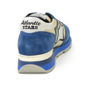 Atlantic STARS【アトランティック スターズ】スニーカー  SIRIUS AO-83B スエード ナイロン ホワイト ブルー cinqueunaltro 05