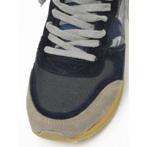【送料無料】PHILIPPE MODEL【フィリップモデル】 スニーカー Specia Classic SPLU CX01  suede nylon  leather camouflage GREY NAVY (スエード ナイロン)|cinqueunaltro|04