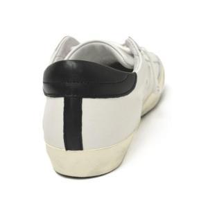 【送料無料】PHILIPPE MODEL【フィリップモデル】  スニーカー Classic Veau CLLU VU06  leather WHITE BLACK(レザー ホワイト ブラック)|cinqueunaltro|05