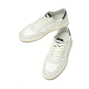 PHILIPPE MODEL【フィリップモデル】  スニーカー Lakers Veau LKLU VX15  leather ホワイト ブラック|cinqueunaltro