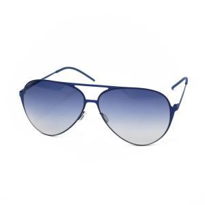 ITALIA INDEPENDENT【イタリア インデペンデント】サングラス 0200A  022 metal BLUE(メタル ブルー)|cinqueunaltro
