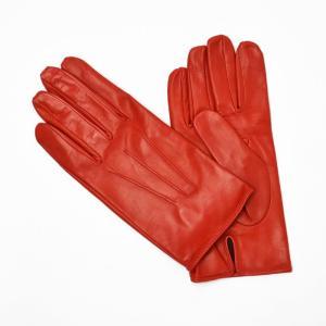 MEROLA【メローラ】手袋/グローブ ME429002 40 lamb leather ROSS( ラムレザー ロッソ)|cinqueunaltro