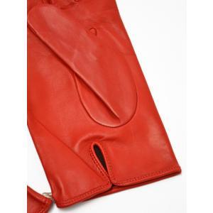MEROLA【メローラ】手袋/グローブ ME429002 40 lamb leather ROSS( ラムレザー ロッソ)|cinqueunaltro|03