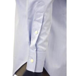 Bagutta【バグッタ】ドレスシャツG386V 07769 051 コットン ツイル ライトブルー|cinqueunaltro|06