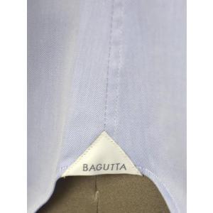 Bagutta【バグッタ】ドレスシャツG386V 07769 051 コットン ツイル ライトブルー|cinqueunaltro|07