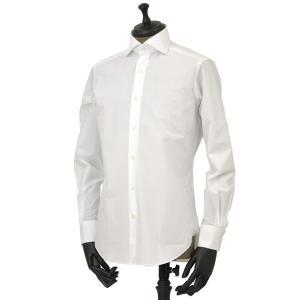 Bagutta【バグッタ】ドレスシャツG386V 00170 001 コットン ポプリン ホワイト|cinqueunaltro|02