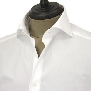 Bagutta【バグッタ】ドレスシャツG386V 00170 001 コットン ポプリン ホワイト|cinqueunaltro|03