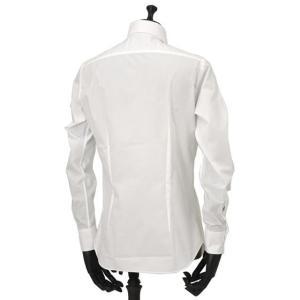 Bagutta【バグッタ】ドレスシャツG386V 00170 001 コットン ポプリン ホワイト|cinqueunaltro|04