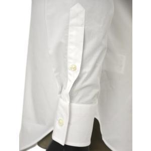 Bagutta【バグッタ】ドレスシャツG386V 00170 001 コットン ポプリン ホワイト|cinqueunaltro|06