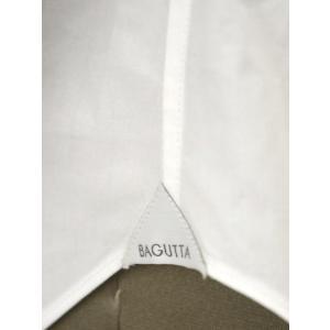Bagutta【バグッタ】ドレスシャツG386V 00170 001 コットン ポプリン ホワイト|cinqueunaltro|07