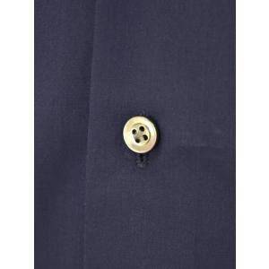 Bagutta【バグッタ】ドレスシャツG386V 00170 051 コットン ポプリン ネイビー|cinqueunaltro|05