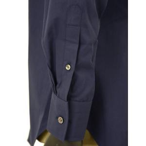 Bagutta【バグッタ】ドレスシャツG386V 00170 051 コットン ポプリン ネイビー|cinqueunaltro|06