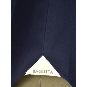 Bagutta【バグッタ】ドレスシャツG386V 00170 051 コットン ポプリン ネイビー|cinqueunaltro|07