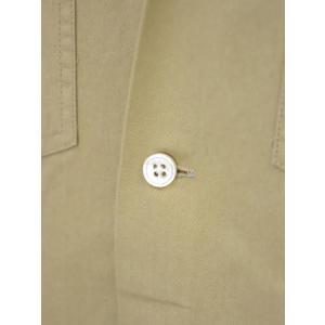 Bagutta【バグッタ】キューバシャツ AVANA 07881 010 コットン  ベージュ|cinqueunaltro|04