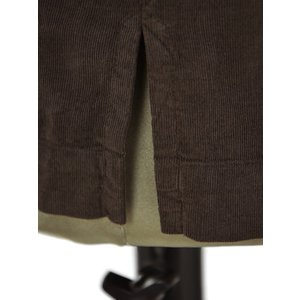 Bagutta【バグッタ】オープンカラーシャツ ALOHAK 08380 071 コットン コーデュロイ ダークブラウン cinqueunaltro 06