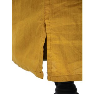 Bagutta【バグッタ】バンドカラープルオーバーシャツ PATMOS_GL 09064 020 コットン マスタード|cinqueunaltro|06