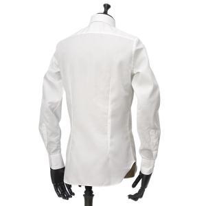 Bagutta【バグッタ】ドレスシャツ 345_GL 02419 001 コットン ツイル イージーケア ホワイト|cinqueunaltro|04