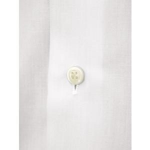 Bagutta【バグッタ】ドレスシャツ 345_GL 02419 001 コットン ツイル イージーケア ホワイト|cinqueunaltro|05