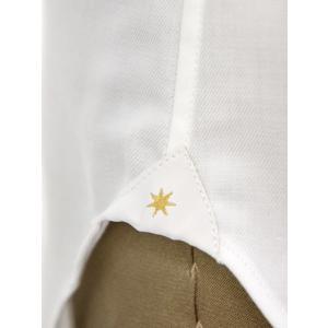 Bagutta【バグッタ】ドレスシャツ 345_GL 02419 001 コットン ツイル イージーケア ホワイト|cinqueunaltro|06