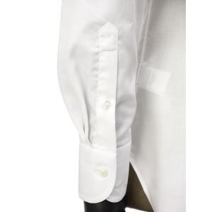 Bagutta【バグッタ】ドレスシャツ 345_GL 02419 001 コットン ツイル イージーケア ホワイト|cinqueunaltro|07